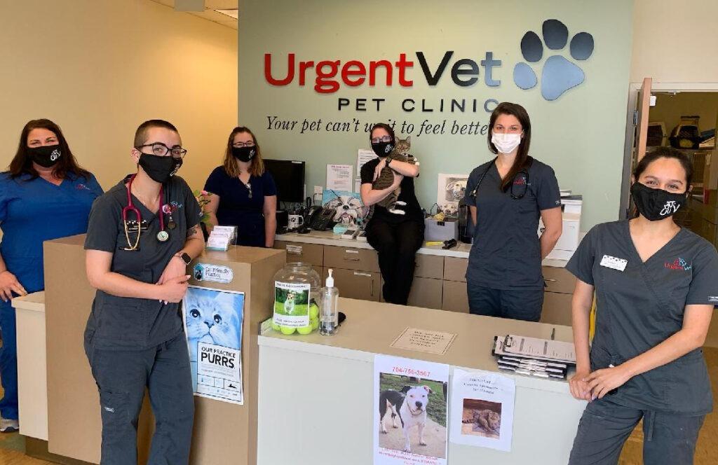 UrgentVet Belmont Team Picture